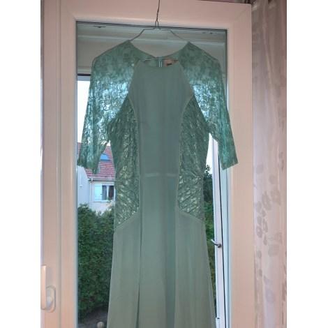 Robe mi-longue ASOS Vert