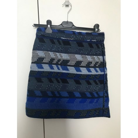 Jupe courte MAJE Bleu, bleu marine, bleu turquoise