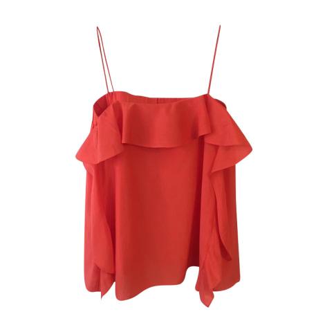 Top, tee-shirt COS Rouge, bordeaux