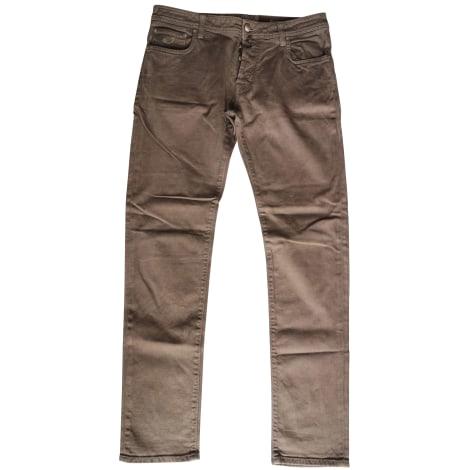 Jeans slim JACOB COHEN Marron