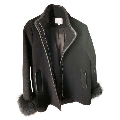 Coat CLAUDIE PIERLOT Black
