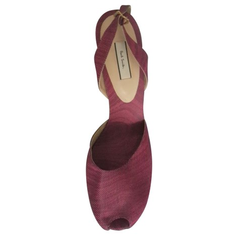 Sandales à talons PAUL SMITH Rose, fuschia, vieux rose