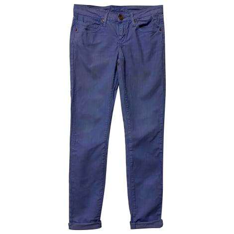 Jeans droit MAJE Bleu, bleu marine, bleu turquoise