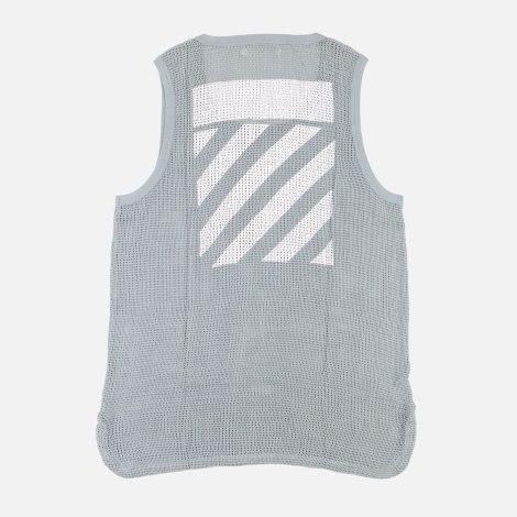 Tee-shirt OFF WHITE Gris, anthracite