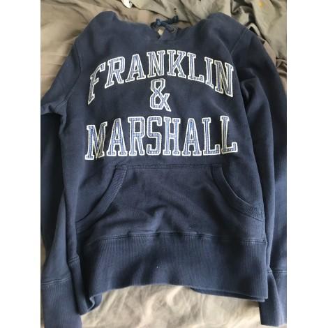 Sweat FRANKLIN & MARSHALL Bleu, bleu marine, bleu turquoise