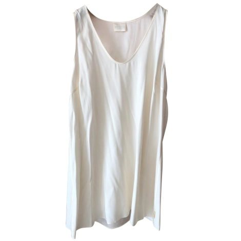 Top, tee-shirt BRUNELLO CUCINELLI Blanc, blanc cassé, écru