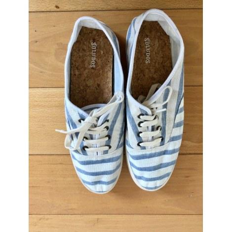 Chaussures à lacets  SOLUDOS Blanc, blanc cassé, écru