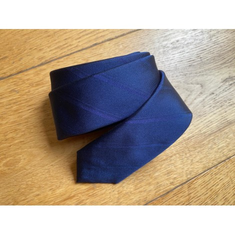 Tie DIOR Blue, navy, turquoise