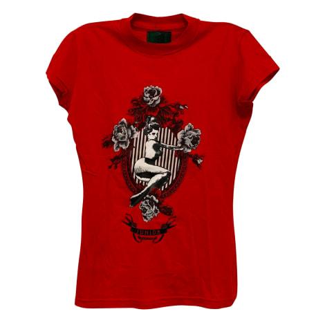 Top, tee-shirt JEAN PAUL GAULTIER Rouge, bordeaux
