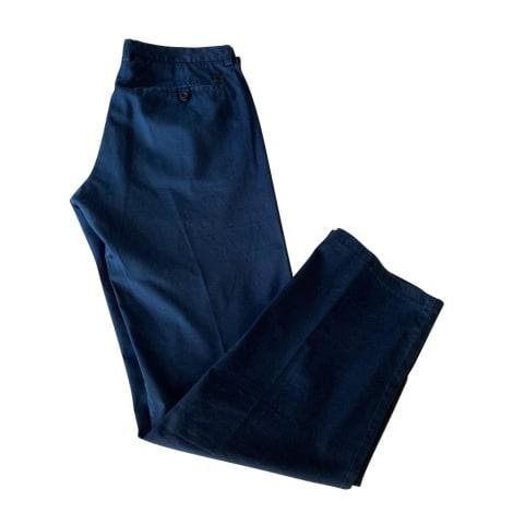 Pantalon droit HUGO BOSS Bleu, bleu marine, bleu turquoise