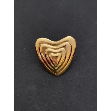 Pin's ESCADA Doré, bronze, cuivre