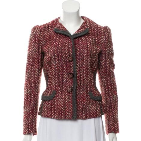 Blazer, veste tailleur PRADA Rouge, bordeaux