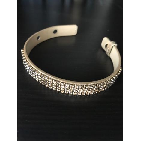Bracelet SWAROVSKI Doré, bronze, cuivre
