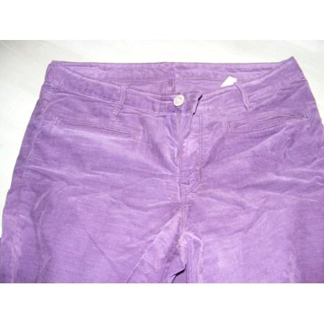 Jeans droit DENIM STUDIO Violet, mauve, lavande