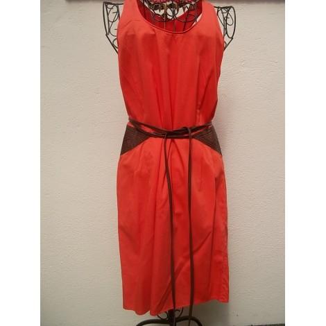 Robe courte LES PETITES... Orange