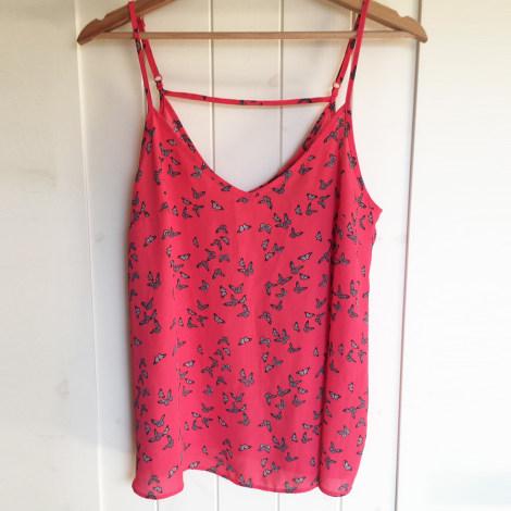 Top, tee-shirt ATMOSPHERE Rouge, bordeaux
