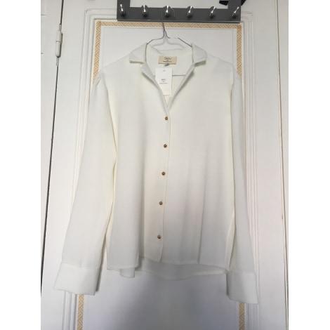 Chemise SAAJ Blanc, blanc cassé, écru