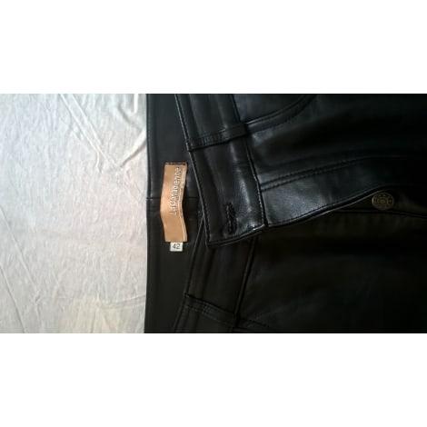 Pantalon droit LA CANADIENNE Noir