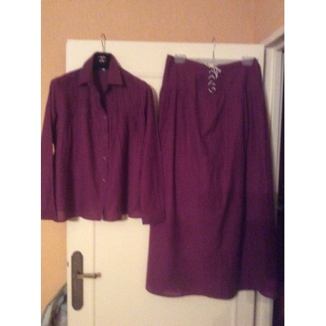Jupe longue BA&SH Violet, mauve, lavande