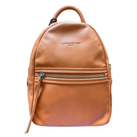 Backpack LANCASTER Beige, camel