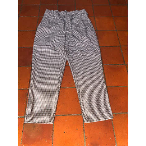 Pantalon large H&M Marron beige