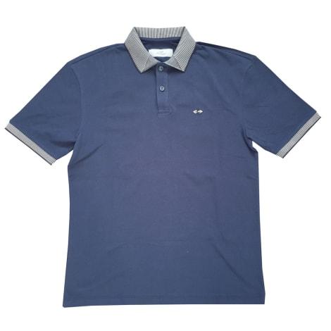 Polo LES COPAINS Bleu, bleu marine, bleu turquoise