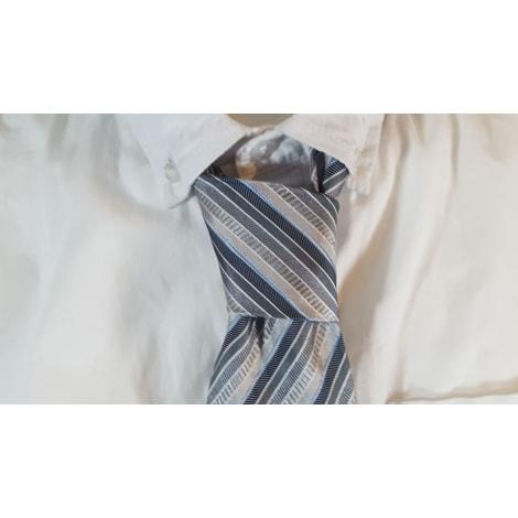 Cravate PIERRE CLARENCE Bleu, bleu marine, bleu turquoise