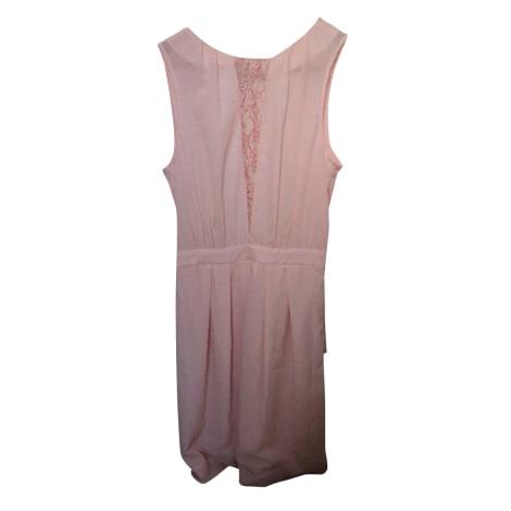Midi Dress CLAUDIE PIERLOT Pink, fuchsia, light pink