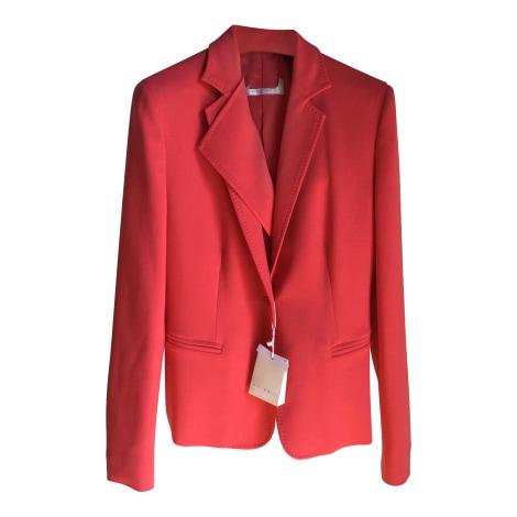 Blazer, veste tailleur MAX MARA Rouge, bordeaux