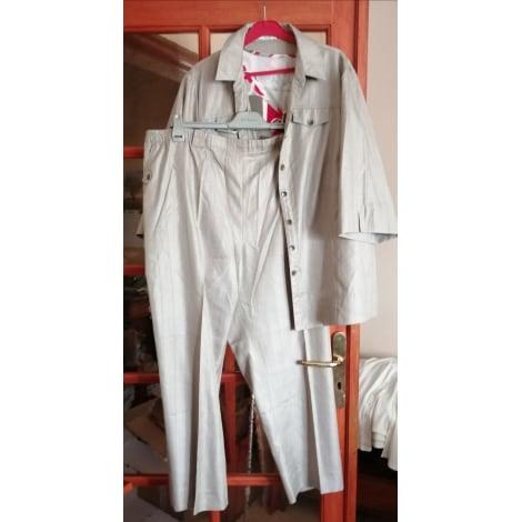 Tailleur pantalon KARTING Beige, camel