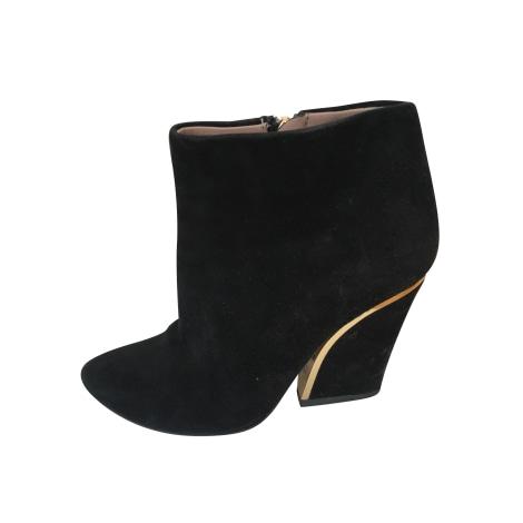 Bottines & low boots à talons CHLOÉ Noir