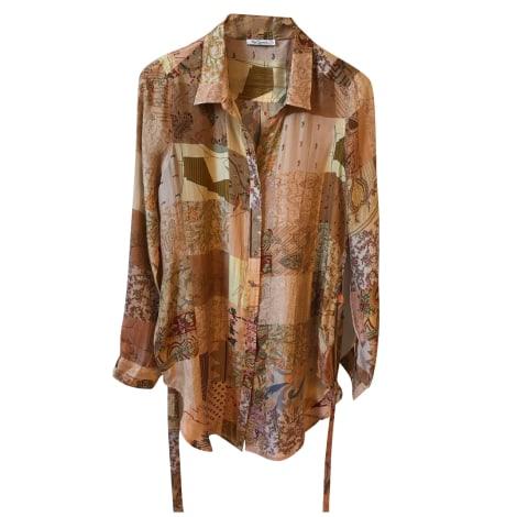 Robe courte MES DEMOISELLES... Beige, camel