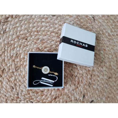 Bracelet ROCHAS Doré, bronze, cuivre