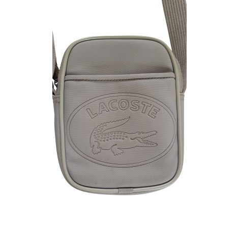 Sacoche LACOSTE Gris, anthracite