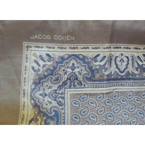 Foulard JACOB COHEN Gris, anthracite