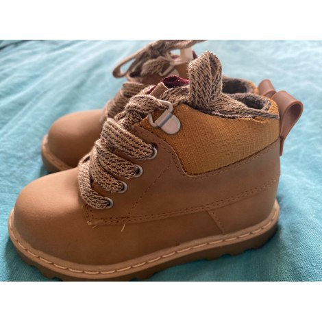 Ankle Boots ZARA Beige, camel