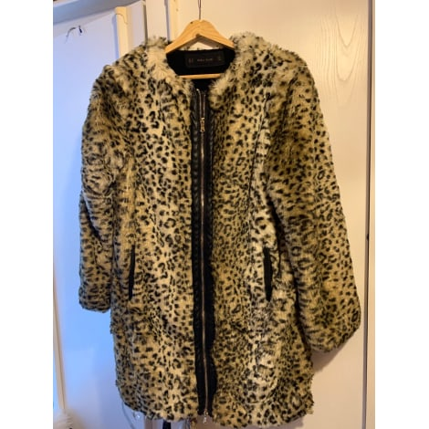 Manteau en fourrure ZARA Imprimés animaliers