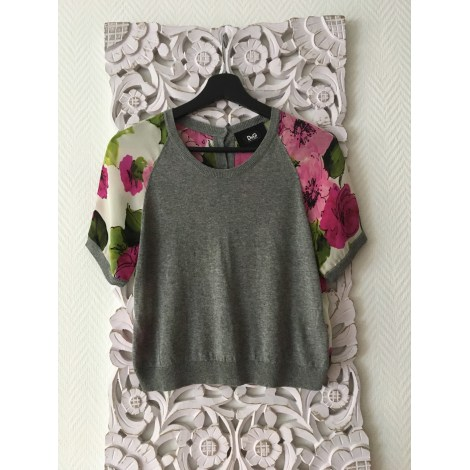 Blouse DOLCE & GABBANA Gris, anthracite