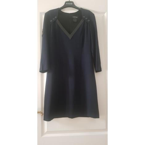 Robe courte NATHALIE CHAIZE Bleu, bleu marine, bleu turquoise
