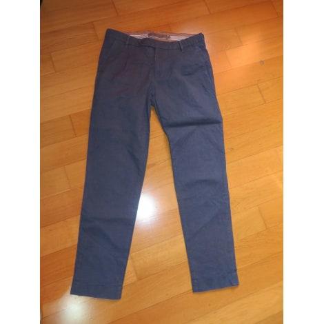 Pantalon droit JECKERSON Bleu, bleu marine, bleu turquoise