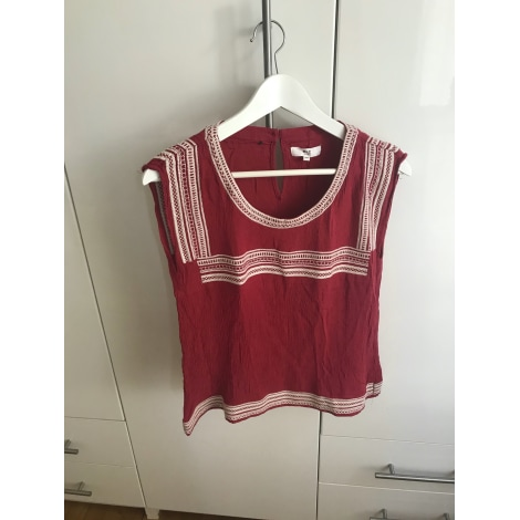Top, tee-shirt MKT Rouge, bordeaux