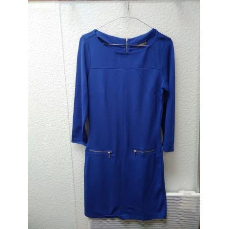 Robe courte YESSICA Bleu, bleu marine, bleu turquoise
