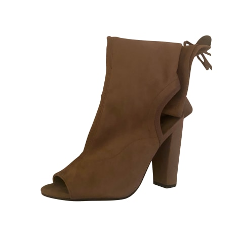 High Heel Boots GUESS Beige, camel