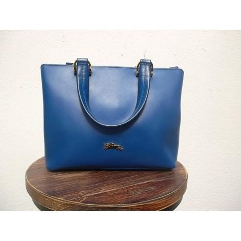Sac en bandoulière en cuir LONGCHAMP Mademoiselle Longchamp Bleu, bleu marine, bleu turquoise