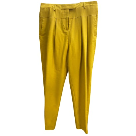 Pantalon large PAUL SMITH Jaune