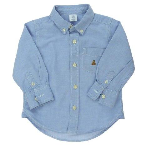 Chemise GAP Bleu, bleu marine, bleu turquoise