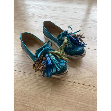 Mocassins MELVIN & HAMILTON Bleu, bleu marine, bleu turquoise