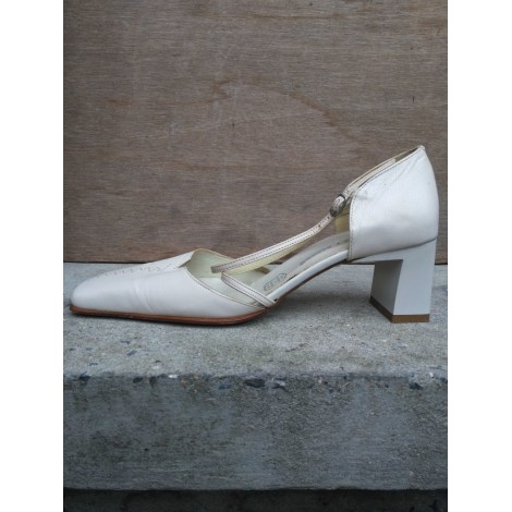 Escarpins STREET SHOES Blanc, blanc cassé, écru