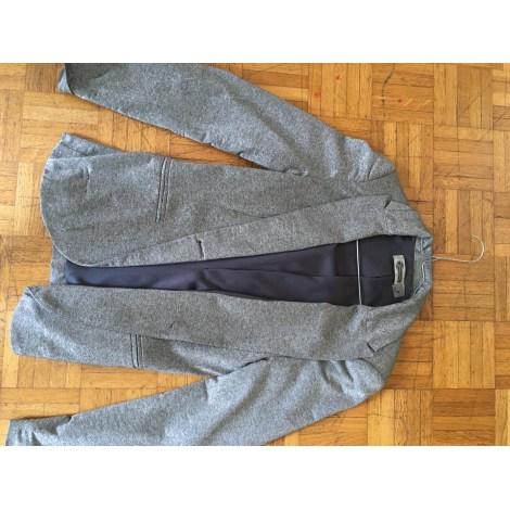 Blazer, veste tailleur STRADIVARIUS Argenté, acier