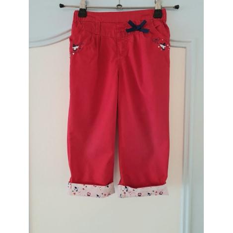 Pantalon SERGENT MAJOR Rouge, bordeaux